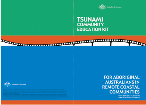 Cover of the Tsunami Community Education Kit