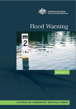 Cover of Australian Emergency Manual 21, Flood Warning