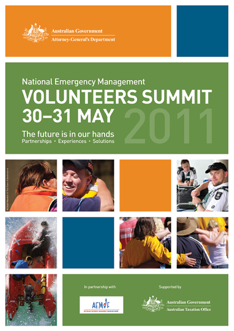 A photograph of a poster advertising a National Emergency