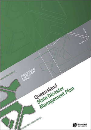 Front cover of the Queensland State Disaster Management Plan