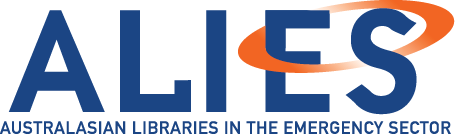 ALIES Australasian Libraries in the Emergency Sector