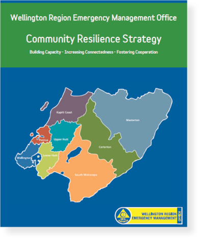 Cover of the WREMO Community Resilience Strategy
