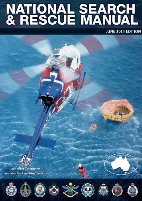 The cover of the National Search and Rescue Manual.