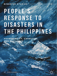 Cover of People's response to disasters in the Philippines.