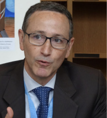 A photo of Robert Glasser, UN Secretary-General Special Representative for Disaster Risk Reduction and Head of the UN Office for Disaster Risk Reduction