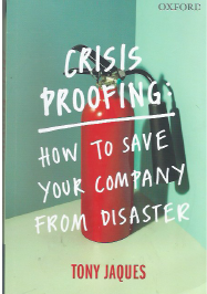 Cover of the book, which has a picture of a fire extinguisher on it.
