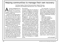 Thumbnail of Helping communities manage their own recovery