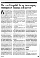 Thumbnail of Editorial: The use of the public library for em...