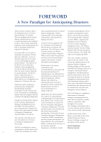 Thumbnail of FOREWORD: A New Paradigm fo...