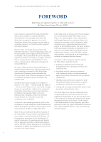 Thumbnail of FOREWORD: Improving our reg...