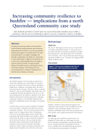 Thumbnail of Increasing community resilience to bushfire —...