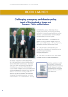 Thumbnail of BOOK LAUNCH: Challenging emergency and disaster...