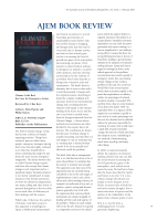 Thumbnail of AJEM BOOK REVIEW: Climate C...