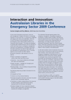 Thumbnail of Interaction and Innovation: Australasian Librar...