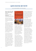 Thumbnail of AJEM BOOK REVIEW: Great Australian Bushfire Sto...