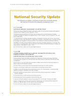 Thumbnail of National Security Update