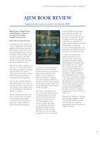 Thumbnail of AJEM BOOK REVIEW: Global as...