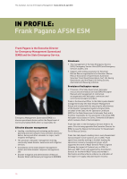 Thumbnail of In PROFILE: Frank Pagano AFSM ESM