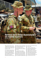 Thumbnail of Defence force helps Queensl...