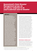 Thumbnail of Queensland's State Disaster Management Group: A...