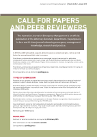 Thumbnail of Call for Papers and Peer Re...