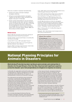 Thumbnail of National Planning Principles for Animals in Dis...