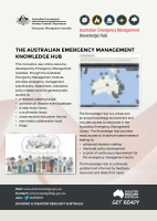 Thumbnail of The Australian Emergency Management Knowledge Hub