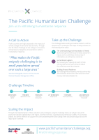 Thumbnail of The Pacific Humanitarian Challenge