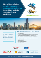 Thumbnail of AFAC16 Conference and trade exhibition