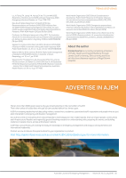 Thumbnail of Advertise in AJEM