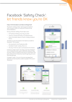 Thumbnail of Facebook 'Safety Check': le...