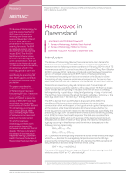 Thumbnail of Heatwaves in Queensland
