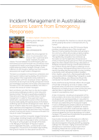 Thumbnail of Incident Management in Australasia: Lessons Lea...