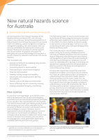 Thumbnail of New natural hazards science for Australia