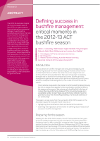 Thumbnail of Defining success in bushfire management: critic...