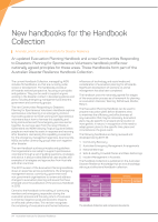 Thumbnail of New handbooks for the Handbook Collection