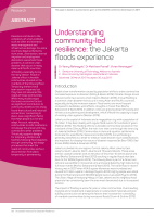Thumbnail of Understanding community-led resilience: the Jak...
